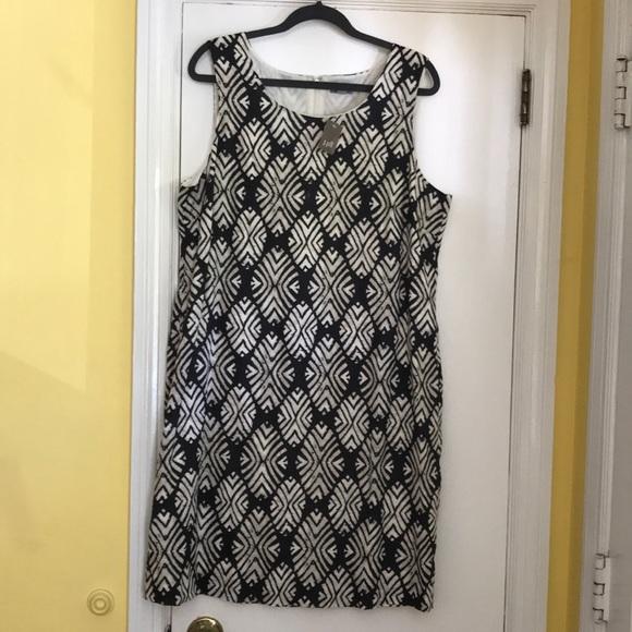 J. Jill Dresses & Skirts - JJill wood block print sheath dress